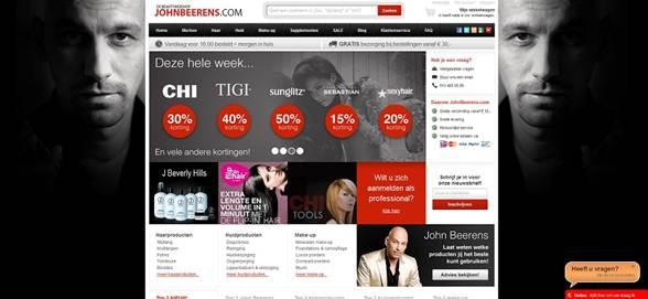 Beautywebshop Johnbeerens.com Vernieuwd!!