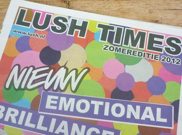 LUSH TIMES – Zomereditie 2012