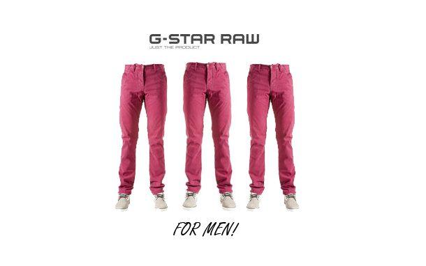 Fashion voor mannen – G-star  bij VanTilburg!