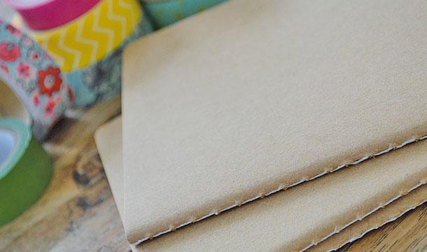 DIY – Washi Tape Notitie boekje!