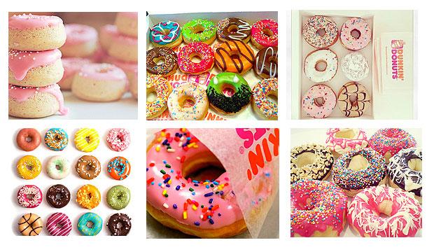 Inspiratie – Kleurrijke donuts!
