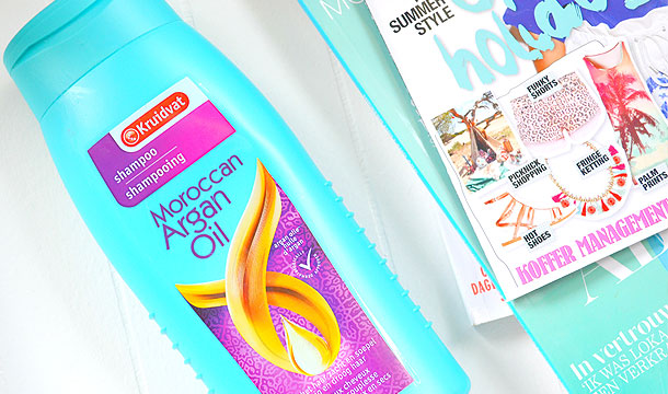 Kruidvat Shampoo met Marokkaanse Argan Olie!