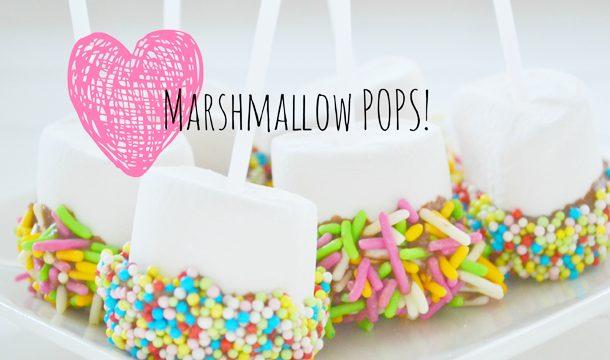 DIY – Marshmallow Pops voor in de choco!