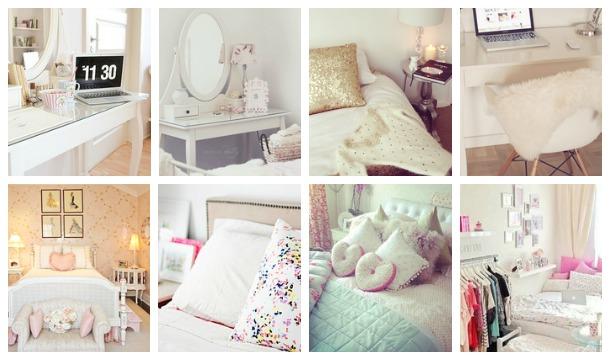 Slaapkamer inspiratie + H&M kussenhoesjes!