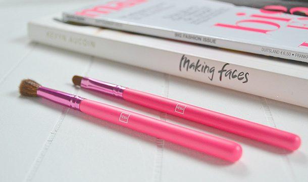 New – HEMA Roze make-up kwasten!