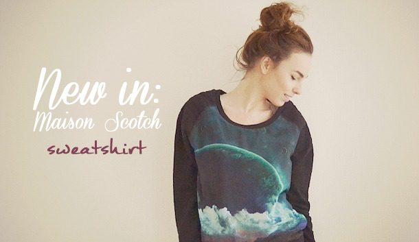 New in – Maison Scotch Sweatshirt via Zwijenburg Mode!