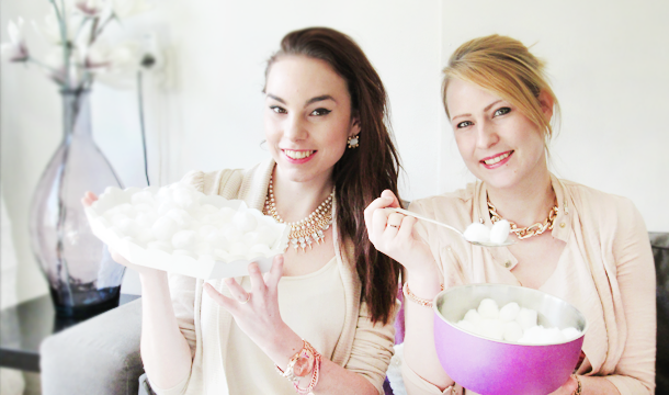 Filmpje – Cotton Ball Challenge met The Beauty Magazine!