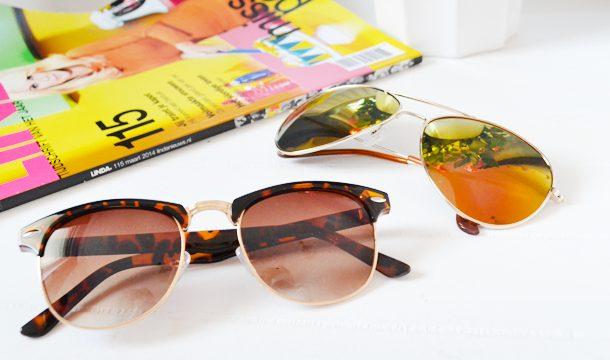 De tijd van zonnebrillen komt erweer aan!