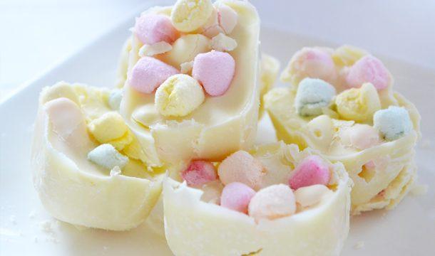 DIY – Witte chocolade met Marshmallows rocks!