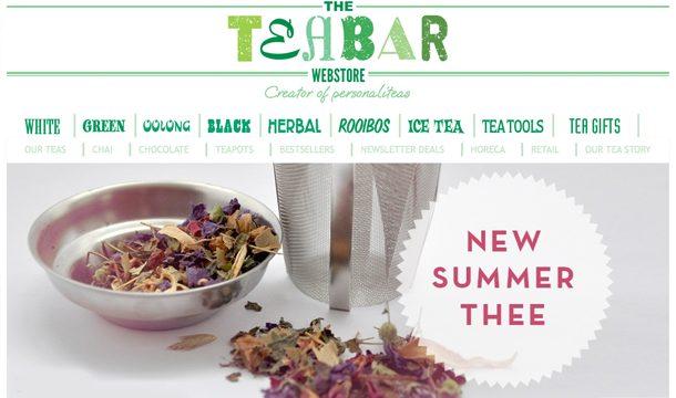 Verrassende nieuwe smaken van Tea Bar!