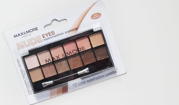 Sneek Peak ♥ Max & More Nude Eyeshadow palette