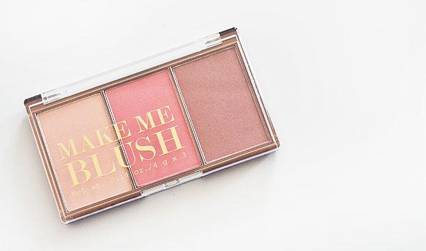 H&M ♡ Make Me Blush palette!