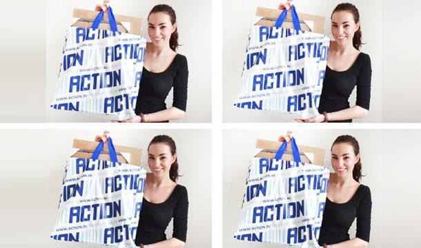 Filmpje ♥ (nog een) ACTION SHOPLOG!