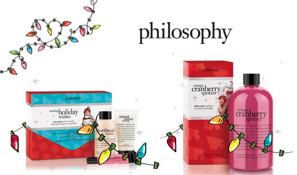 Philosophy holiday collection 2014