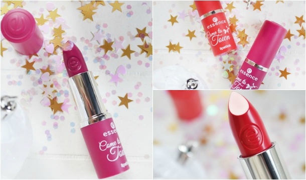 Review ♥ essence Come To Town Lipsticks!