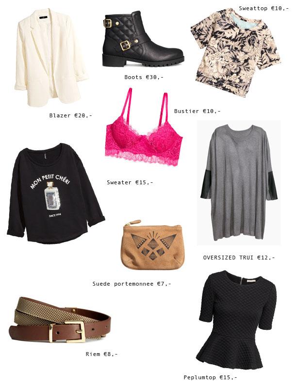 Mijn favoriete SALE items van H&M