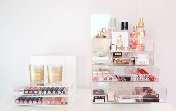 Make-up opbergen met de Clear Cube!