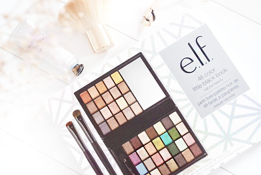 NEW YEAR GIVE-AWAY | e.l.f Little Black Beauty Book