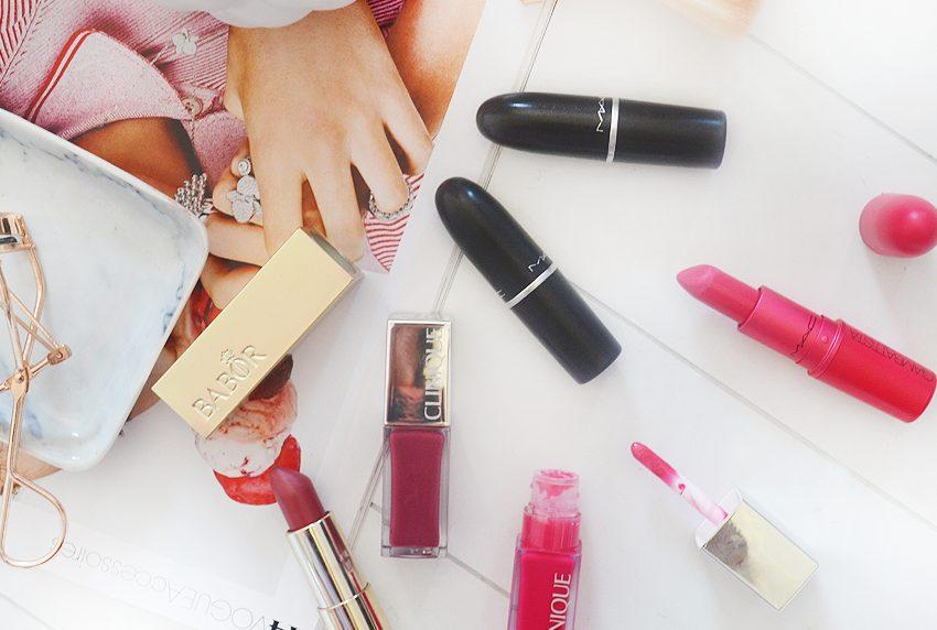 Mijn favoriete lipkleuren van dit moment!