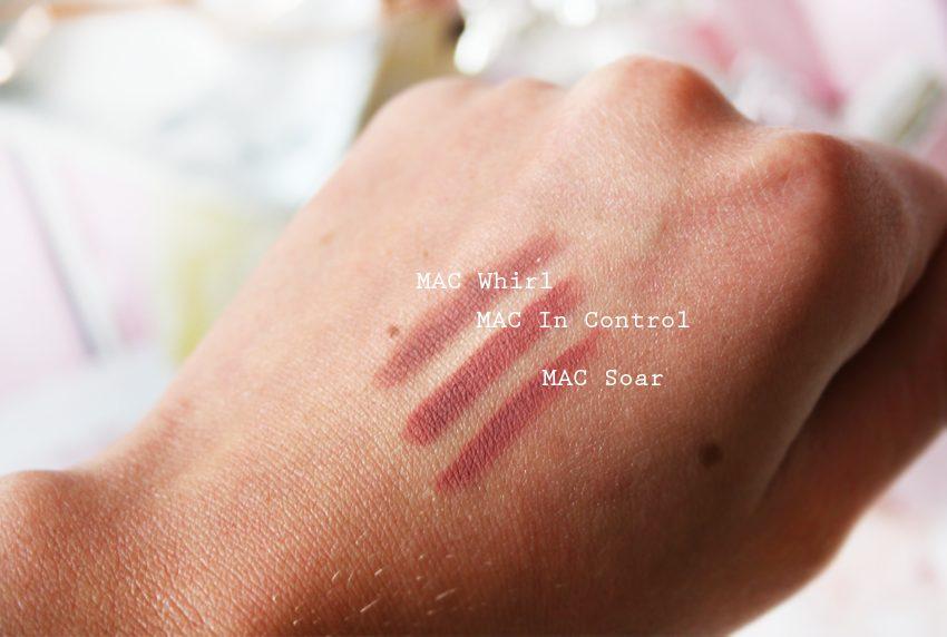 Soar lip liner by mac