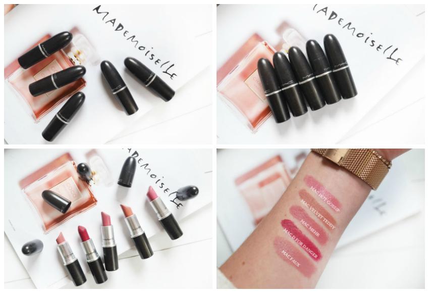 Mijn 5 favoriete MAC lipsticks!
