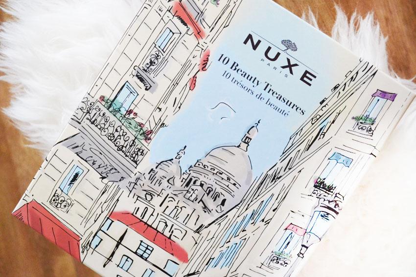 Adventskalender | 10 Beauty Treasures Box van Nuxe + Winactie