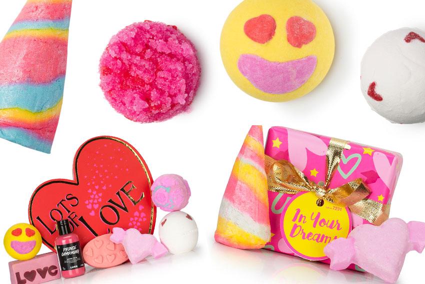 Valentijnsdag bij Lush!