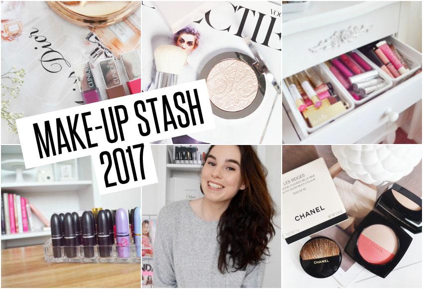 Mijn make-up stash | 2017
