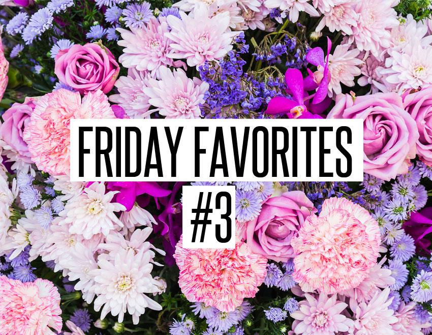 Friday Favorites #3