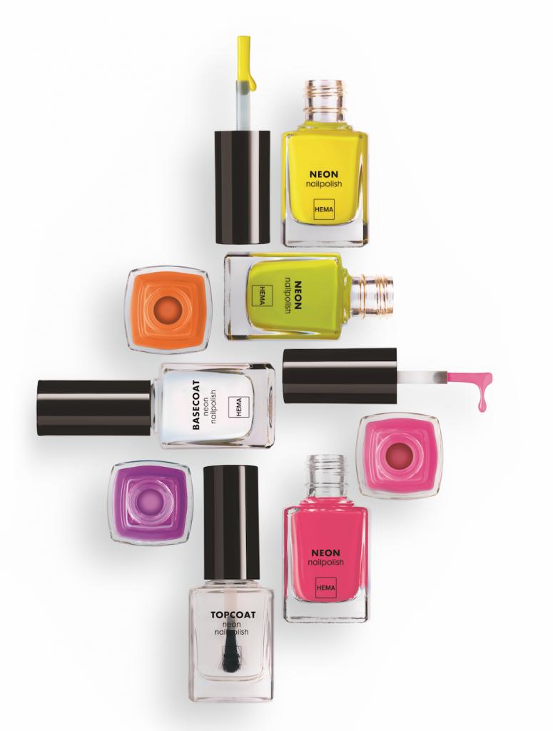 HEMA BEAUTY | 6 limited edition neon nagellakken!
