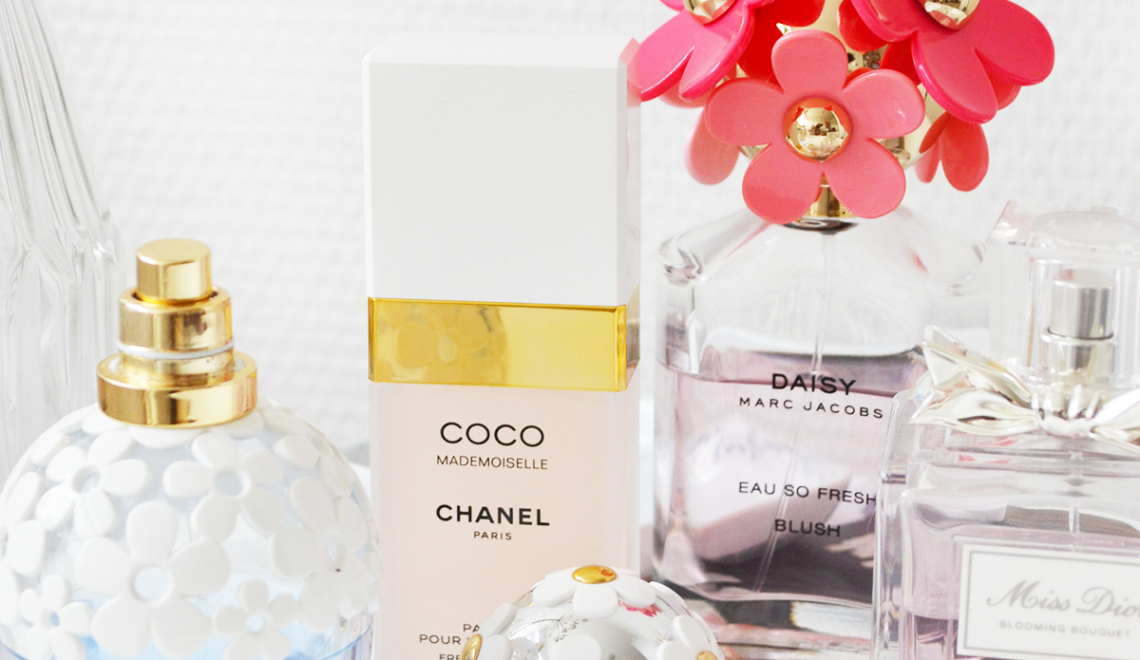 Mijn favoriete lente parfums!