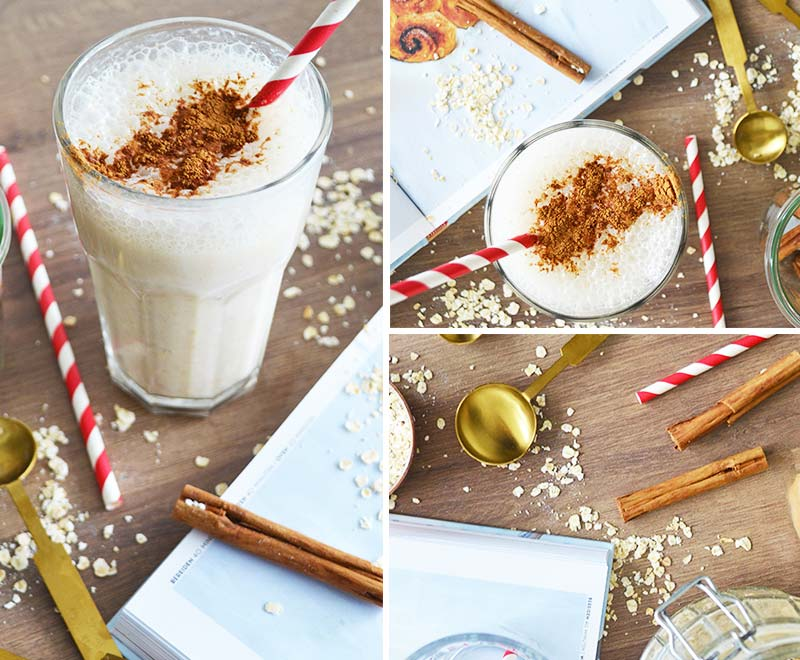 Herfst recept | Cinnamon Roll Smoothie!
