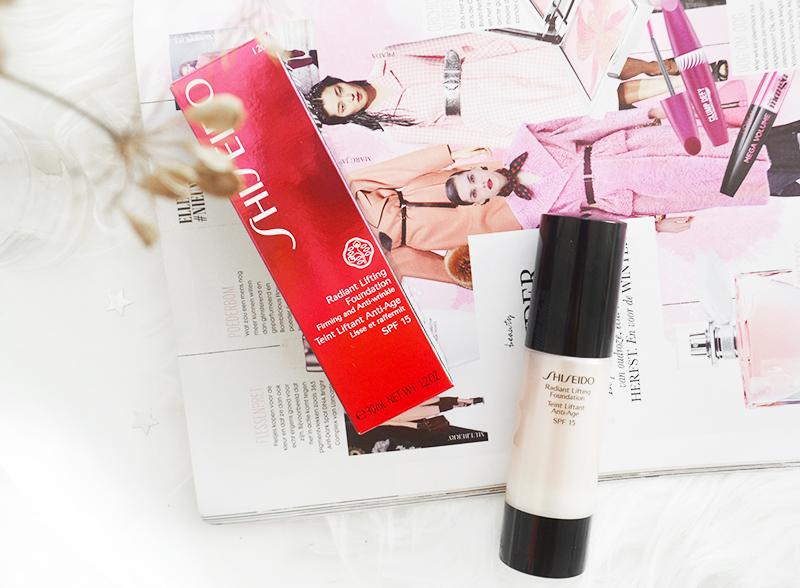 Mijn nieuwe favoriete foundation van Shiseido!