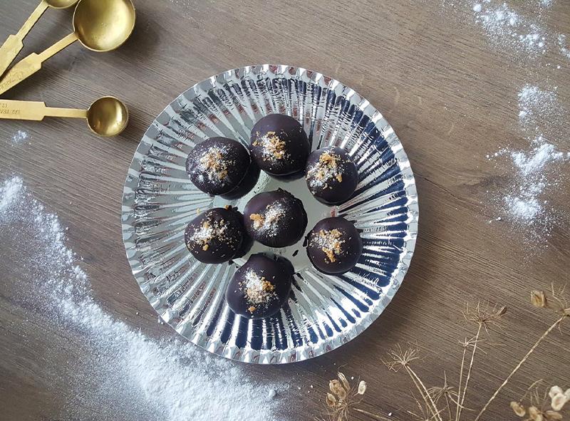 Kerst recept   Stroopwafel & Fudge bonbons!