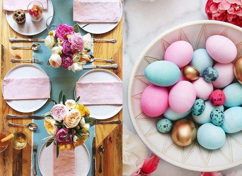 Inspiratie | De mooiste tafels voor Pasen!