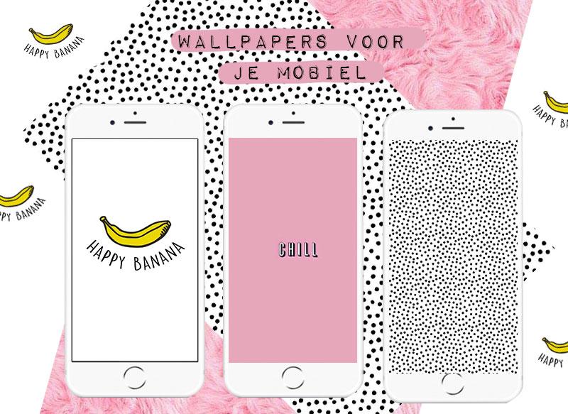 #1 | De leukste achtergrondjes voor je mobiel!