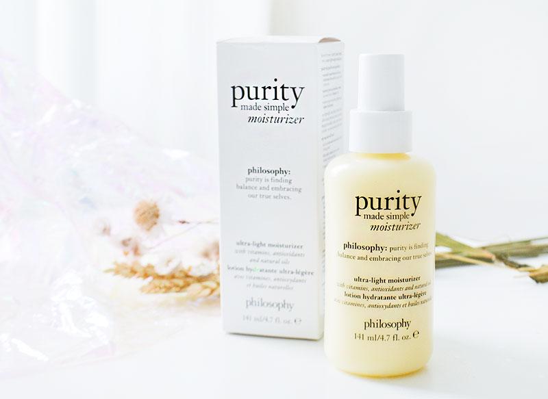 philosophy | purity ultra-light moisturizer!