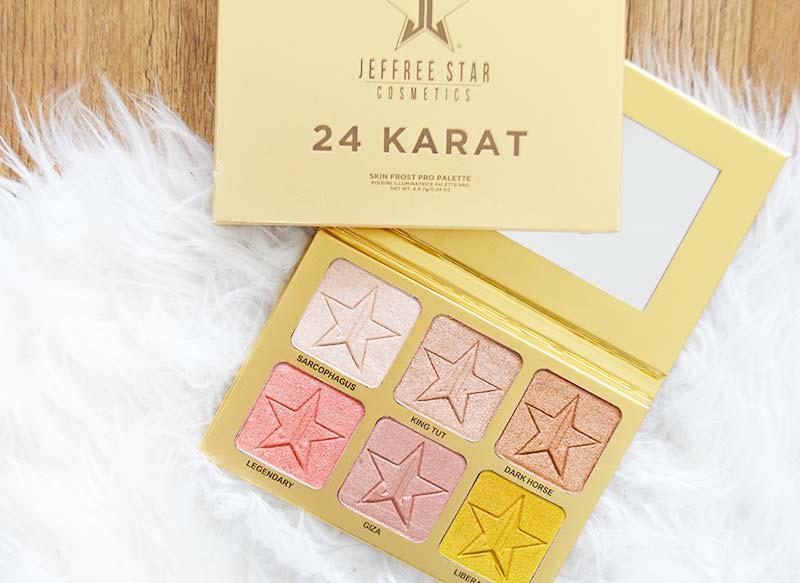 Jeffree Star Cosmetics | 24 karat Skin Frost Pro Palette