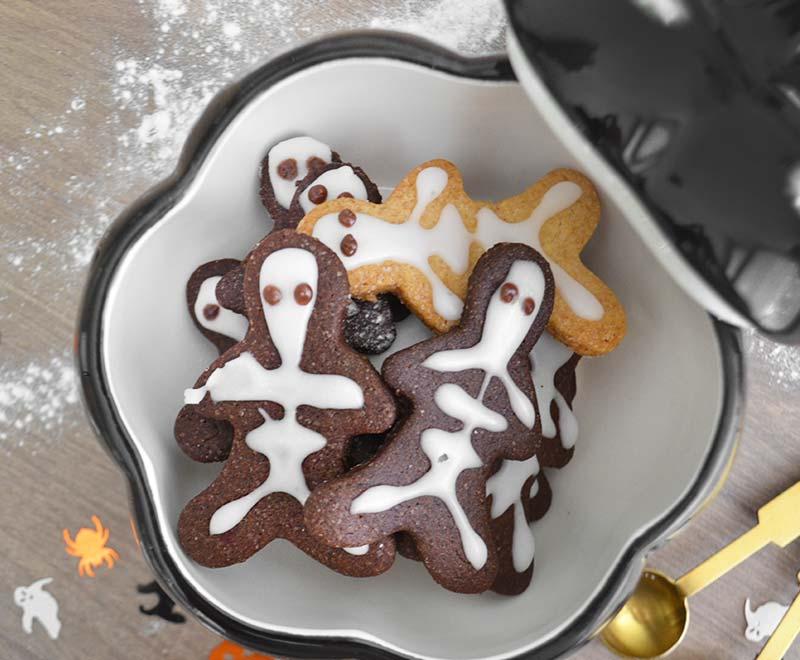 Halloween koekjes recept | Skelet poppetjes!