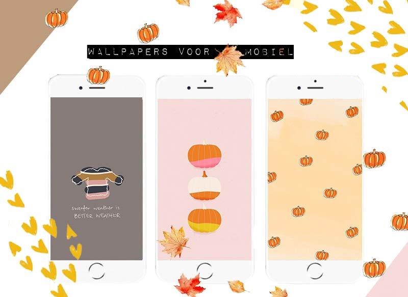 #3 | De leukste achtergrondjes voor je mobiel!