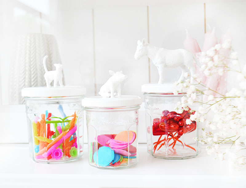 ORGANIZING & DIY | Animal Jar