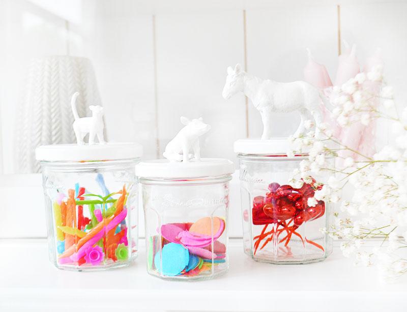 ORGANIZING & DIY   Animal Jar
