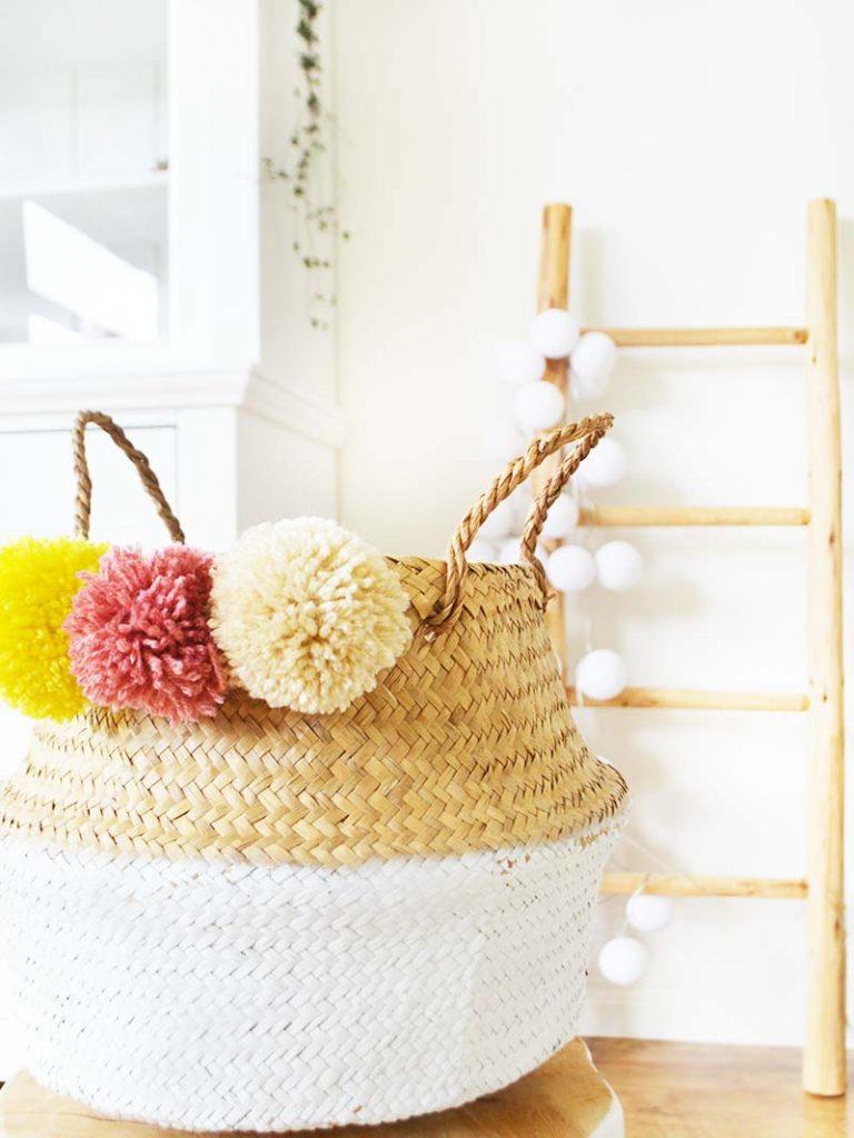 DIY | Pom Pom Basket