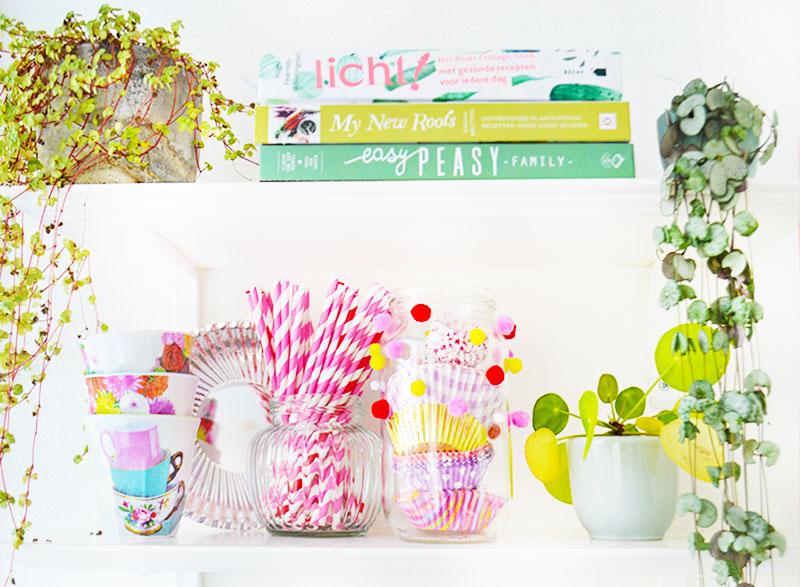 Organizing & DIY | Glazen potjes om in op te bergen!