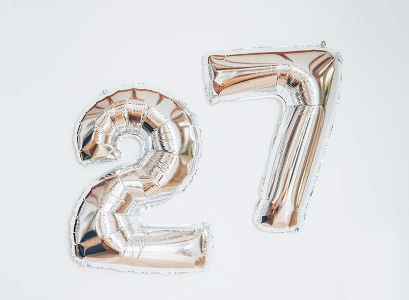 Happy 27 Birthday to me!