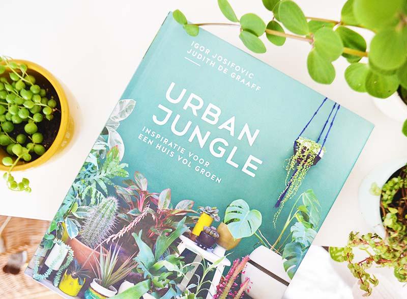 Boek voor planten liefhebbers: Urban Jungle