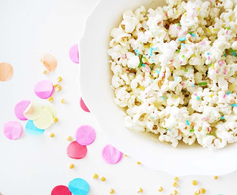 White Chocolate Party Popcorn!