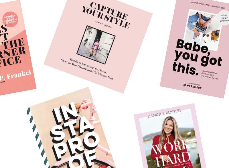 7x inspirerende boeken voor Bloggers & Instagrammers!