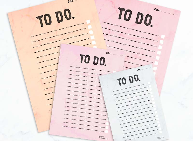 FREE PRINTABLE To Do lijstjes! #2