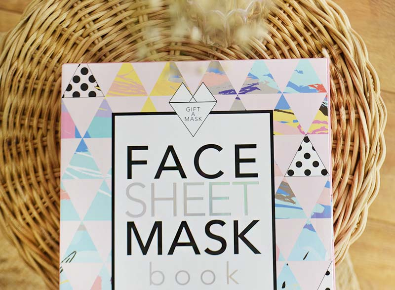 Action | Face Sheet Mask Book!